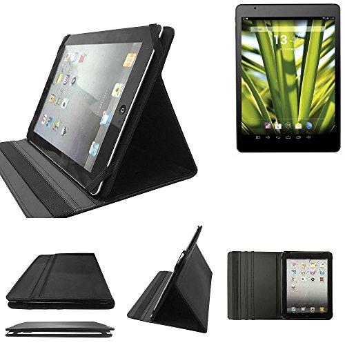 K-S-Trade Touchlet X10.Octa Schutz Hülle Business Case Tablet Schutzhülle Flip Cover Ultra Slim Bookstyle Tasche für Touchlet X10.Octa, schwarz. Kunstleder Qualitätsware