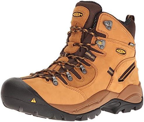 Keen Utility Men'S Pittsburgh Steel Toe Work Boot, Trigo, 43 2E EU/9 2E UK