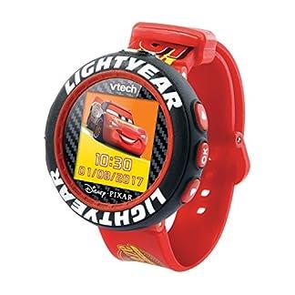 VTech Cars 3 – Electrónica para niños (Kids smartwatch, Negro, Rojo, Botones, 5 año(s), Niño, 12 año(s))