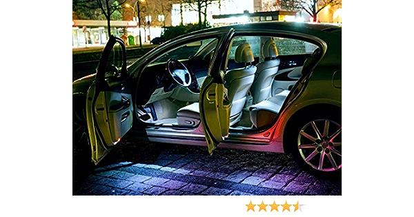 Für Jeepgrandcherokeeivwk Wk2 Weisse Innenraumbeleuchtung Set Umrüstsatz Innenraum Beleuchtung Eine Sehr Exklusive Kalt Weisse Optik Von Hallenwerk Auto