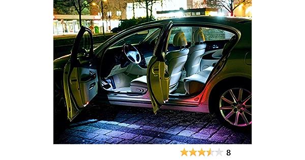 Eine sehr exklusive KALT WEISSE Optik WEISSE INNENRAUMBELEUCHTUNG Set Umr/üstsatz Innenraum Beleuchtung BMW3erCoupeE46 von Hallenwerk