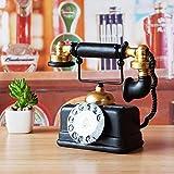 ZPSPZ Home Dekoration Wohnzimmer Amerikanische Retro - Möbel Dekorative Inneneinrichtungsgegenstände Antiken Telefon Café Wohnzimmer TV - Kabinett Dekoration 19 * 10 * 16Cm