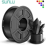 SUNLU PLA+ Filament 1.75mm for 3D Printer & 3D Pens, 1KG (2.2LBS) PLA+ 3D Printer Filament Tolerance Accur