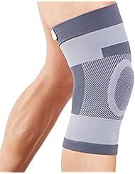 Actesso Kompression Kniebandage Kniestütze - Kniehülse ist ideale für Bänderverletzungen oder Zerrungen und Verstauchungen eingesetzt werden für Männer & Frauen und kann bei für Sportverletzung inklusive - Laufen - Wandern - Tennis - Fußball und mehr