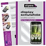 dipos I 2X Schutzfolie klar passend für Doro Liberto 825 Folie Bildschirmschutzfolie