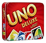 #6: Zaid Collections Toys Uno Card Game Tin Metal Box