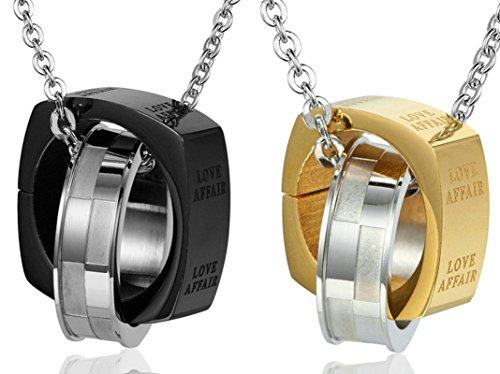 Daesar Sie & Ihn Halskette Set Paare