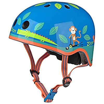 Micro Safety Helmet Jungle Medium for Boys and Girls Cycling Scooter Bike by Micro Scooters