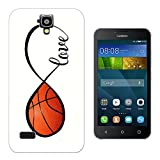 723 - Love Infinity Love Basketball Design Huawei Ascend