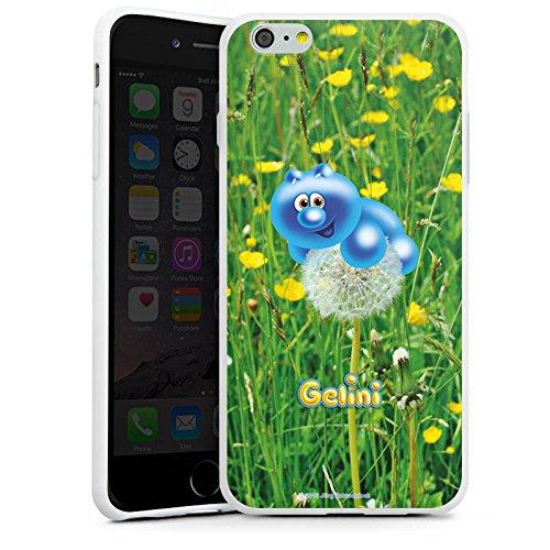 Apple iPhone X Silikon Hülle Case Schutzhülle Gelini Gummibärchen Pusteblume Silikon Case weiß