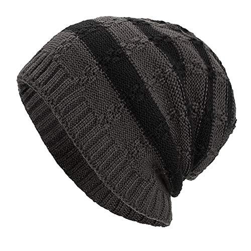 Imagen de sombrero caliente,lonshell mujer hombres mantener caliente suelto tejiendo gancho invierno lana tejer esquí gorro slouchy sombrero casual cálido esquiar  alternativa