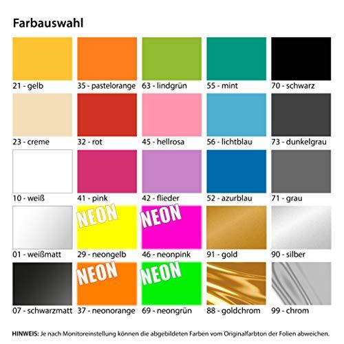Nix verkaufen, nix Karte, Meins! 12,5 x 10 cm IN 15 FARBEN – Neon + Chrom! Sticker Aufkleber - 2
