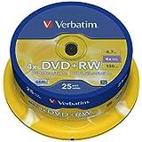 Verbatim DVD+RW x 25 4.7 Go