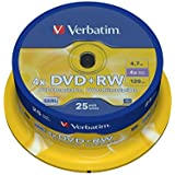 Verbatim (43489) : DVD+RW 6x 25-pack :  Optical Media