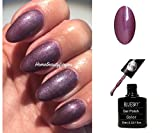 BLUESKY A78 LILA GLANZ Winter Mauve Nagellack-Gel UV-LED-Soak Off 10 ml plus 2 LuvliNail Shine Tücher
