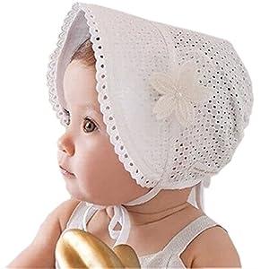 HBF Sombrero para bebé niña Talla única 12