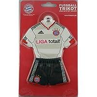 FC Bayern München Miniatur-Trikot m. Saugnapf Minikit s/w