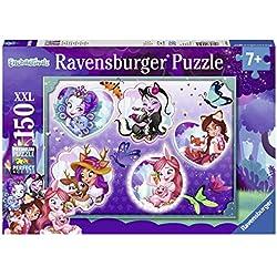 Ravensburger- Puzzle Enchantimals et Leurs compagnons 150 pièces Enfant, 4005556100545, Néant