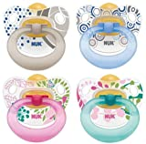 NUK 10172027 - Latex Beruhigungssauger Happy Kids