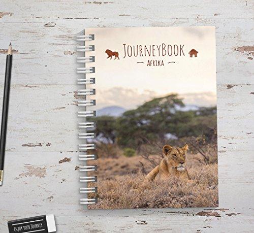 Reisetagebuch Afrika zum selberschreiben/als Abschiedsgeschenk -