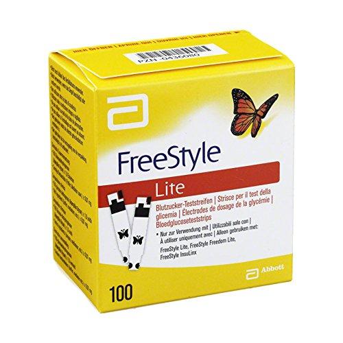 Freestyle Lite Teststreifen Abb 100 Stk preisvergleich