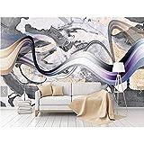 Poster murale 3D in marmo stampato murale per salotto casa decorazione murale murale impermeabile carta da parati strutturata parete 3D, Non-lana, 430 * 300cm(169.3 * 118.1inch)