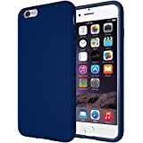 "Diztronic TPU completa Mate Soft Touch flexible para Apple iPhone 6 Plus & 6S Plus (5.5"") - Retail Packaging - Azul Marino"