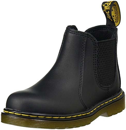 Dr. Martens Unisex-Kinder SHENZI Softy T BLACK Bootsschuhe Schwarz), 24 EU