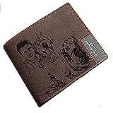 Personalisierte Mens Custom Foto Leder Brieftasche -A perfekte Geburtstag/Weihnachten / Väter Day Geschenk für Männer und Papa
