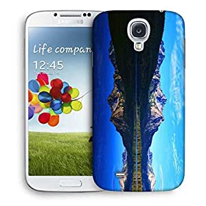 Snoogg Mirror Image Of Mountain Designer Protective Phone Back Case Cover For Samsung Galaxy S4