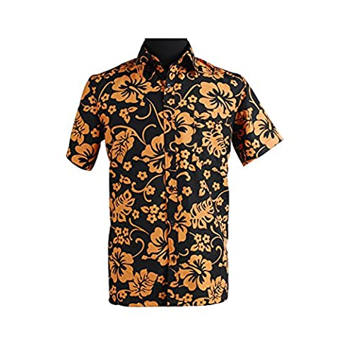 Kucos Man's clothing Fear and Loathing in Las Vegas Raoul Duke cosplay Shirt XL