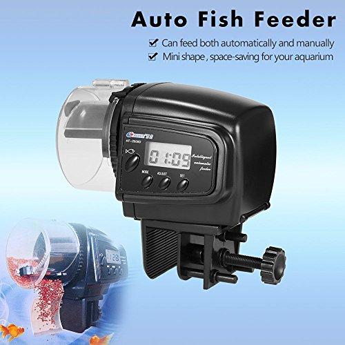Fengh Aquarium, Das LCD-Display Digital Automatische Oder Manuelle Aquarium Timer Fischfutter Feeder (Automatischer Digital-feeder-timer)