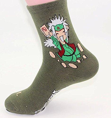 Japanese Anime Naruto Socks 6 Pairs,