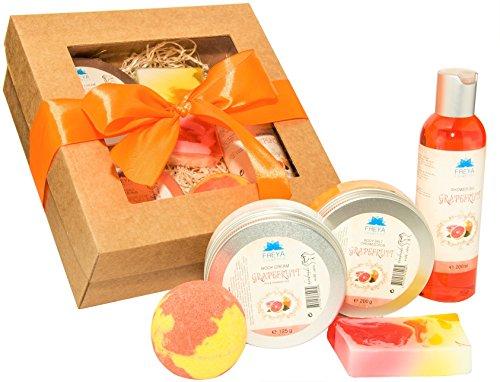spa-gift-set-grapefruit-handmade-deluxe-relax-natural-ingredients-shower-gel-body-salt-cream-scrub-b