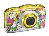 """Nikon Coolpix W150 Fotocamera Digitale Compatta, 13.2 Megapixel, LCD 3"""", Full HD, Impermeabile, Resistente agli Urti, alle Basse Temperature e alla Polvere, Resort [Nital Card: 4 Anni di Garanzia]"""