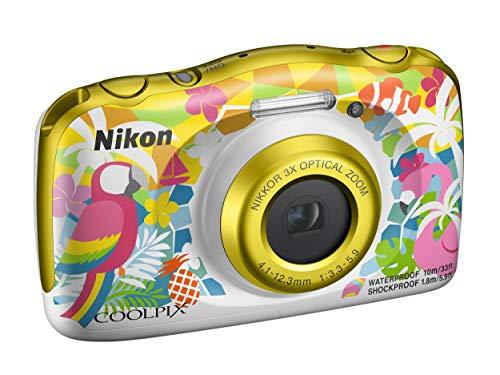 """Foto Nikon Coolpix W150 Fotocamera Digitale Compatta, 13.2 Megapixel, LCD 3"""", Full HD, Impermeabile, Resistente agli Urti, alle Basse Temperature e alla Polvere, Resort [Nital Card: 4 Anni di Garanzia]"""