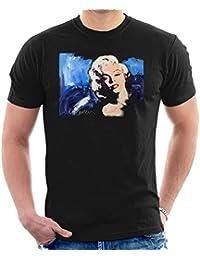 Sidney Maurer Original Portrait Of Marilyn Monroe Blonde Bombshell Men S T- Shirt f0793eb62e8
