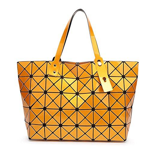 Folding Rubiks Würfel-Handtasche Gurt Umhängetasche Orange