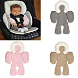 #1: Baby Car Seat Pram Pushchair Stroller Safety Soft Cushion Pad Baby Protection - gray