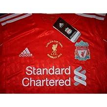 Adidas Liverpool – Carling Cup 2012 de fútbol Fútbol Jersey Camiseta XXL