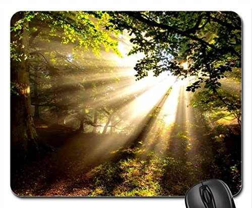 sunlight-mouse-pad-mousepad-forests-mouse-pad