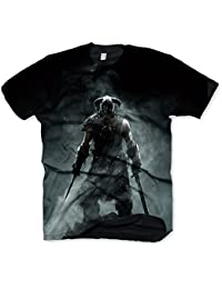 Skyrim T-Shirt Dragonborn, Size L [import allemand]