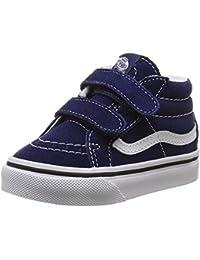 Vans - Sk8-mid Reissue V, Mocasines para Bebés que ya se tienen de pie Bebé-Niños, Azul (patriot Blue/true White), 24.5 EU