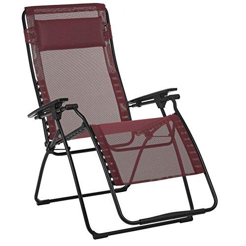 Lafuma Mobilier Futura XL - Siège Camping - Batyline Rouge/Noir 2018 Tabouret Camp