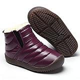 Gaatpot Bambini Ragazzo Ragazza Stivali da Neve Inverno Stivaletti Caldo Pelliccia Impermeabile Stivali Boots Sneakers Scarpe EU36=37CN