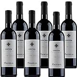 Cannonau di Sardegna Doc | Argiolas Costera | Confezione da 6 Bottiglie da 75 Cl | Vino Rosso Italiano | Idea Regalo