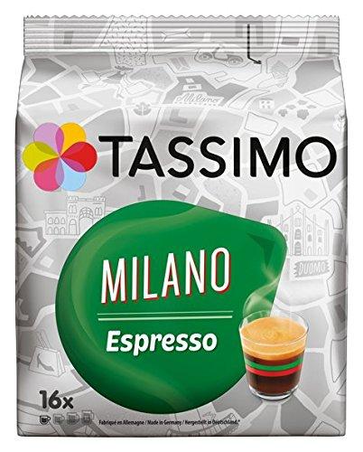 Tassimo Milano Espresso 16 Kaffee Kapseln 5er