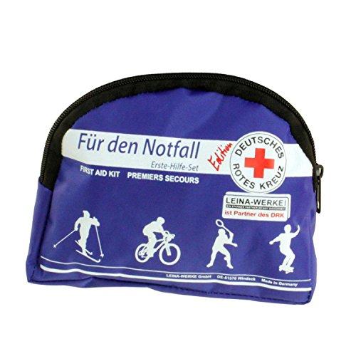 Für den Notfall - Erste Hilfe Set - Sport u. Freizeit - Edition Deutsches Rotes Kreuz - Blau - (1x1Stück)