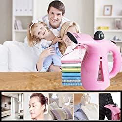 The Virgo Clothing Steamer Handheld Garment Fabric Steamer Facial Steamer for Clothes and Face, Portable Powerful Steamer with Fast Heat-up Perfect for Home Travel