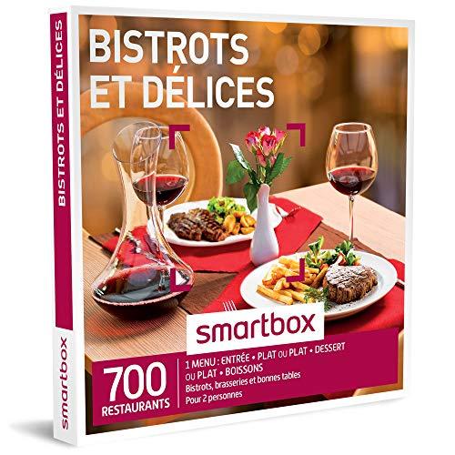 SMARTBOX - Coffret Cadeau - BISTROTS ET DELICES - 405 Repas : Bistrots, Brasseries et...